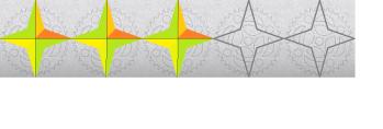3 tähteä