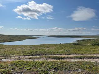 Keski-Finnmarkin maisemia (Kuva: A. Lyytikäinen)